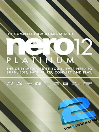 Nero 12 Multimedia Suite Platinum HD v12.5   تاپ 2 دانلود