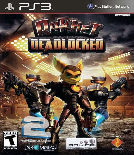 Ratchet Deadlocked   تاپ 2 دانلود