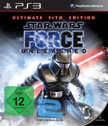 دانلود بازی star wars the force unleashed use برای ps3