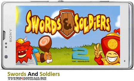 Swords And Soldiers v1.0.9 | تاپ 2 دانلود