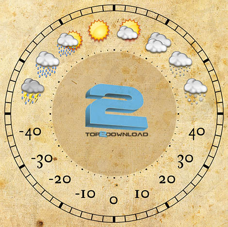 Weather Clock   تاپ 2 دانلود