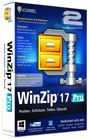 WinZip Pro 17.5 Build 10480 Final | تاپ 2 دانلود