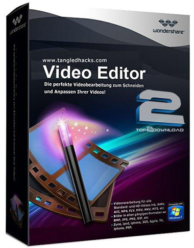 Wondershare Video Editor 3.1.3.0 | تاپ 2 دانلود