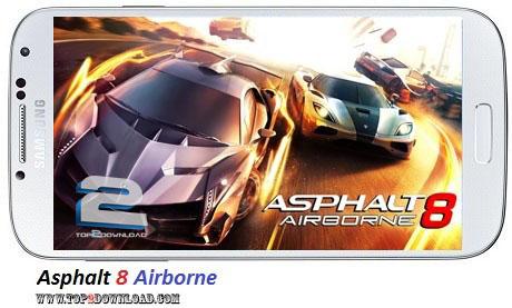 Asphalt 8 Airborne v1.0.0 | تاپ 2 دانلود