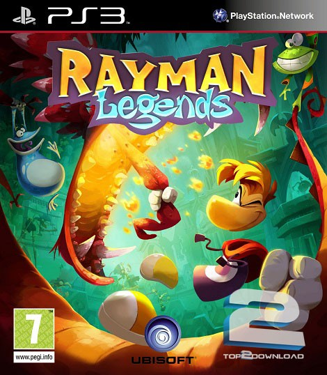 Rayman Legends | تاپ 2 دانلود