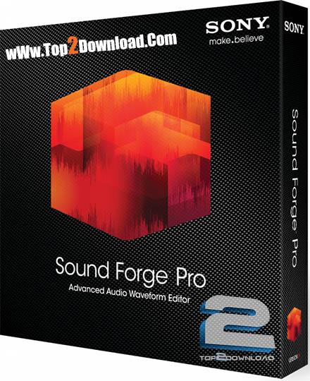 SONY Sound Forge Pro   تاپ 2 دانلود