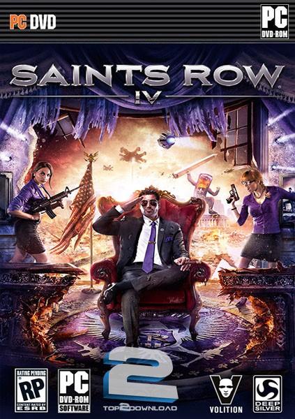 دانلود نسخه کم حجم و کامل بازی Saints Row IV|دسته خلافکاران4 برای PC با لینک مستقیم