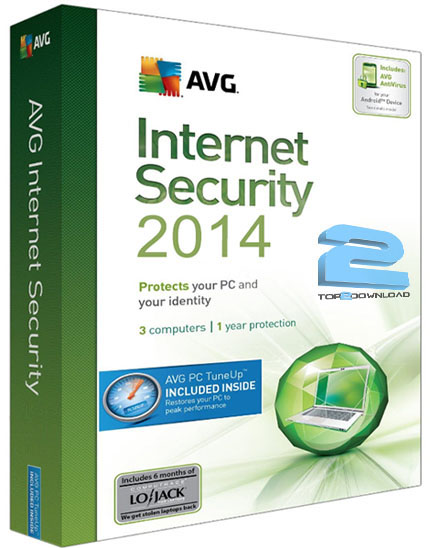 AVG Internet Security 2014 14.0 Build 4116a6613 Final | تاپ 2 دانلود