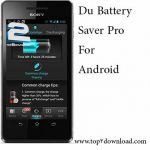 دانلود نرم افزار Du Battery Saver Pro v 3.1.0 برای اندروید
