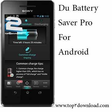 Du Battery Saver Pro v 3.1.0 | تاپ 2 دانلود