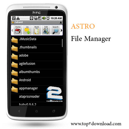 Astro File Manager Browser v 4.3.489   تاپ 2 دانلود