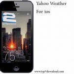 دانلود نرم افزار Yahoo Weather v 1.2 برای ios