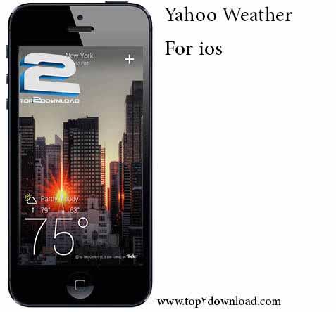 Yahoo Weather v 1.2 | تاپ 2 دانلود