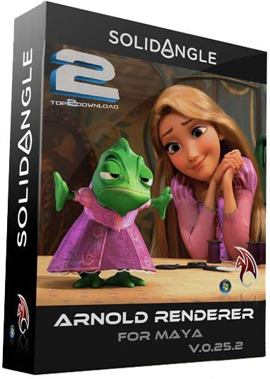SolidAngle Maya To Arnold 0.25.2   تاپ 2 دانلود