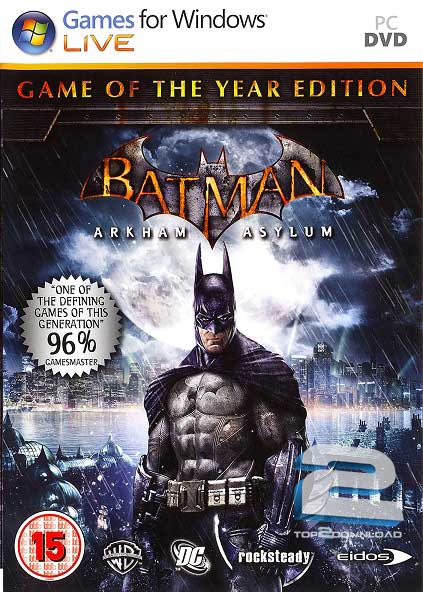 Batman Arkham Asylum Game of The Year Edition | تاپ 2 دانلود