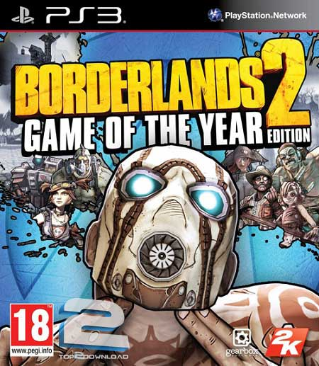 Borderlands 2 Game of the Year Edition | تاپ 2 دانلود