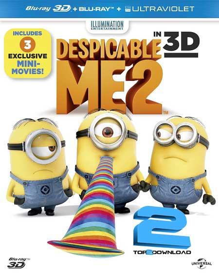 Despicable Me 2 2013 HD 1080p 3D | تاپ 2 دانلود
