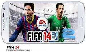 FIFA 14 v1.2.8   تاپ 2 دانلود