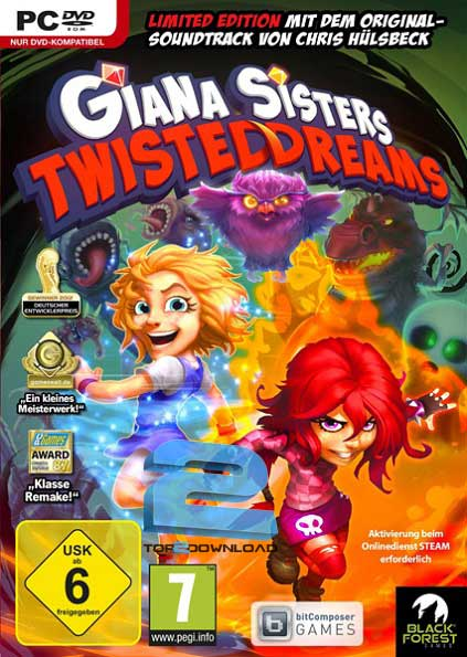 Giana Sisters Twisted Dreams ROTO | تاپ 2 دانلود