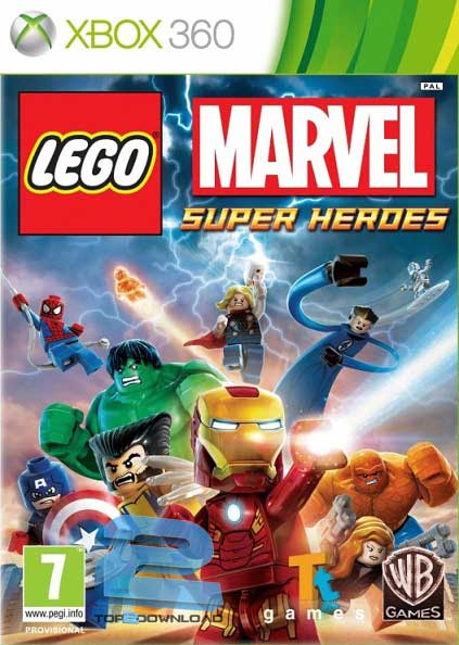 LEGO Marvel Super Heroes | تاپ 2 دانلود