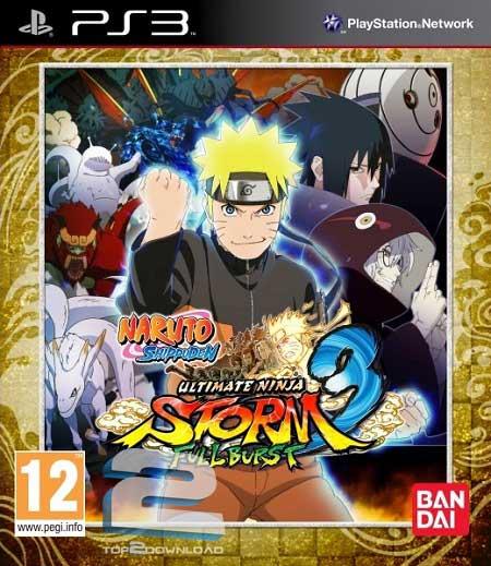 Naruto Shippuden Ultimate Ninja Storm 3 Full Burst | تاپ 2 دانلود
