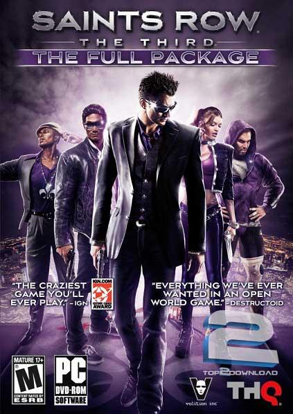 Saints Row The Third The Full Package | تاپ 2 دانلود
