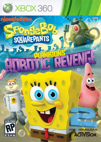 SpongeBob SquarePants Planktons Robotic Revenge   تاپ 2 دانلود