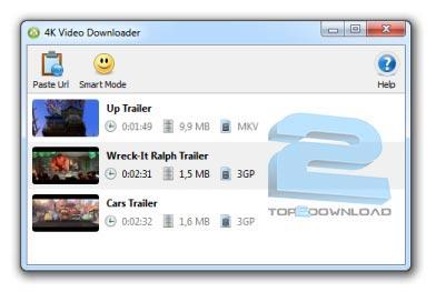 ۴K Video Downloader ۲٫۹٫۰٫۱۰۰۰   تاپ 2 دانلود
