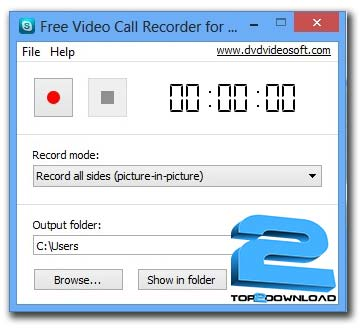 Free Video Call Recoder for Skype | تاپ 2 دانلود