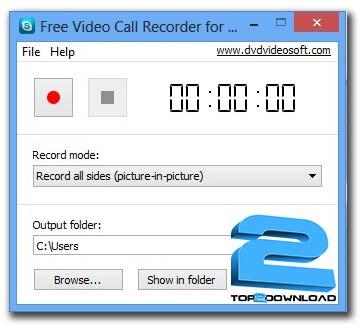 Free Video Call Recoder for Skype | تاپ 2 دانلود