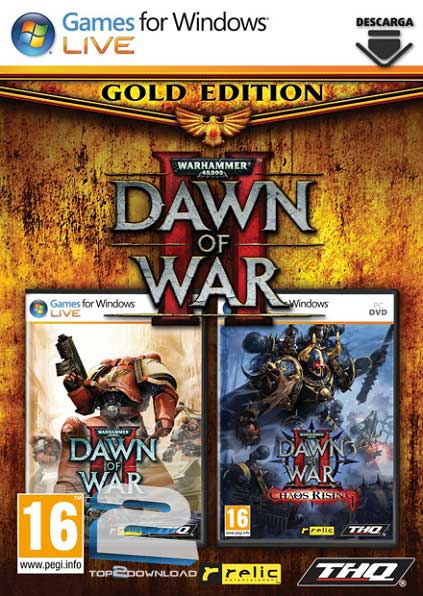 Warhammer 40.000 Dawn of War II Gold Edition | تاپ 2 دانلود
