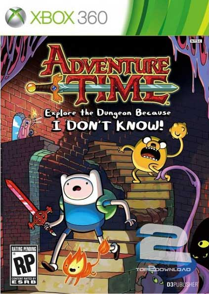 Adventure Time Explore the Dungeon BIDK | تاپ 2 دانلود