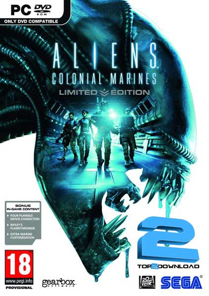 Aliens Colonial Marines Limited Edition | تاپ 2 دانلود