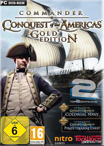 Commander Conquest Of The Americas Gold Edition | تاپ 2 دانلود
