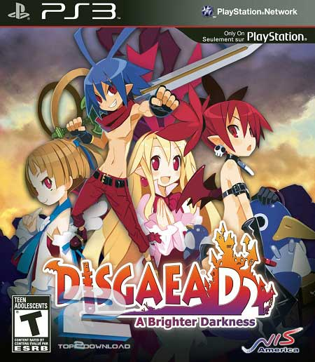 Disgaea D2 A Brighter Darkness | تاپ 2 دانلود