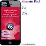 دانلود نرم افزار Shazam Red v6.1.0 برای آیفون
