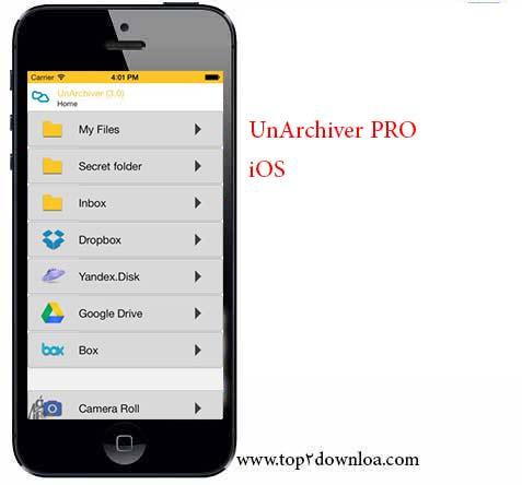 UnArchiver Pro v 3.0 | تاپ 2 دانلود