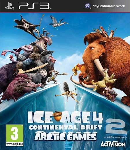 Ice Age Continental Drift Arctic Games | تاپ 2 دانلود