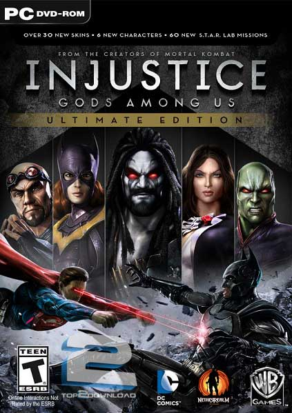 Injustice Gods Among Us Ultimate Edition | تاپ 2 دانلود