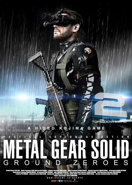 Metal Gear Solid 5 Ground Zeroes | تاپ 2 دانلود