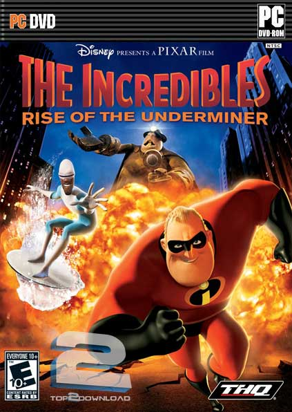 The Incredibles Rise Of The Underminer | تاپ 2 دانلود