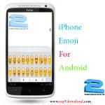 دانلود برنامه iPhone Emoji v 1.9 برای اندروید