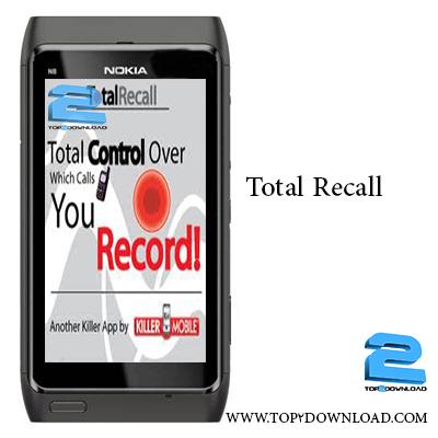 Killer Mobile Total Recall v 5.5.2   تاپ 2 دانلود