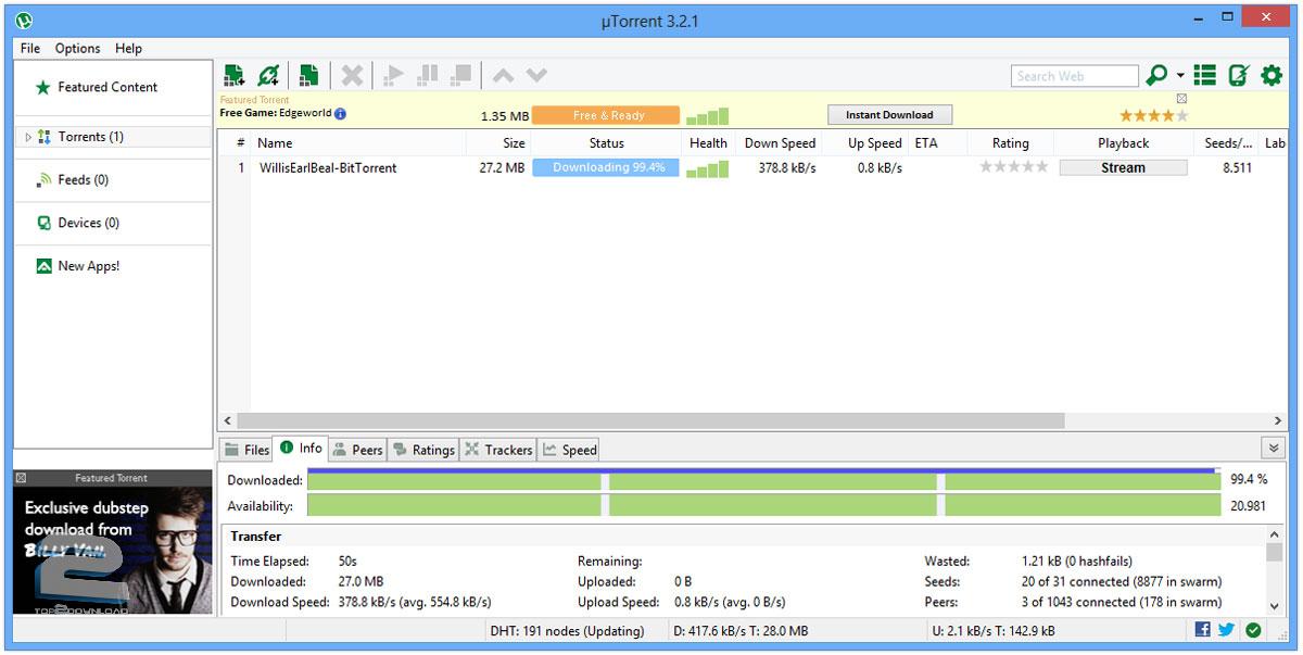 utorrent stable 3.4.2 build 33254