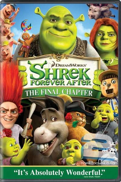 دانلود دوبله فارسی انیمیشن Shrek Forever After 2010 | تاپ 2 دانلود