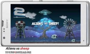 Aliens vs sheep v1.2 | تاپ 2 دانلود