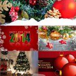 دانلود مجموعه ۲۰ تصویر زمینه کریسمس ۲۰۱۴