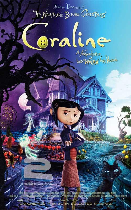 دانلود دوبله فارسی انیمیشن Coraline | تاپ 2 دانلود