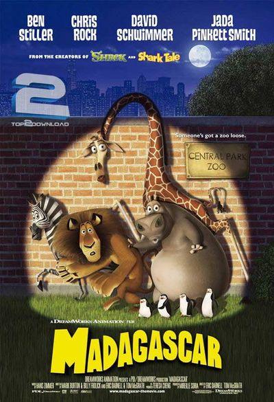 دانلود دوبله فارسی انیمیشن Madagascar 2005 | تاپ 2 دانلود