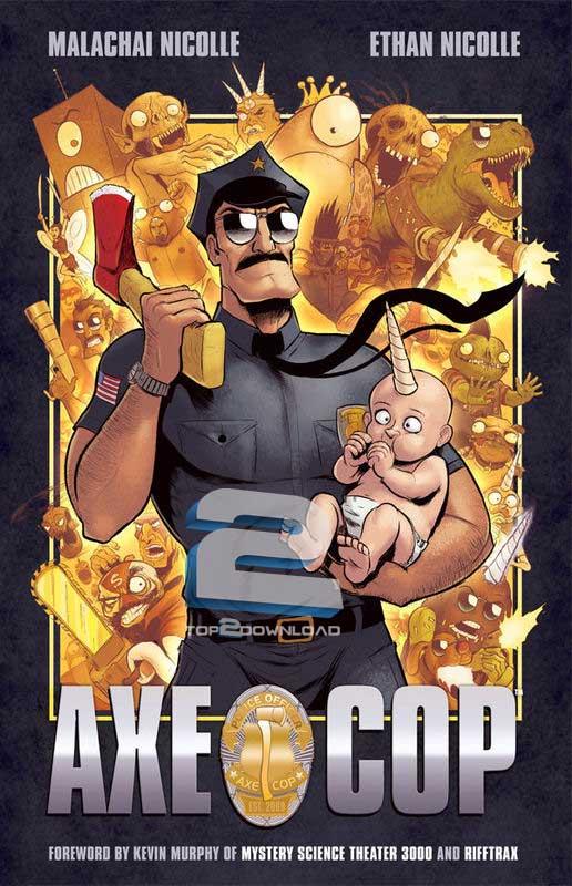 دانلود فصل اول انیمیشن Axe Cop 2013 | تاپ 2 دانلود
